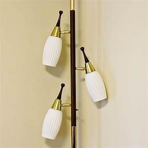 Vintage pole lamp tension lamp floor to ceiling lamp for Floor to ceiling retro lamp
