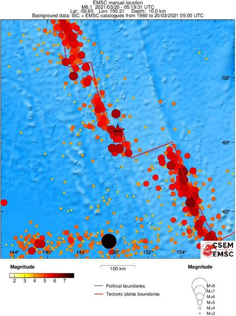 Geological survey estimates the final death toll could be in the tens of thousands, as images of devastation similar to that of the 2010. Shallow M6.1 earthquake hits west of Macquarie Island, Southwestern Pacific Ocean