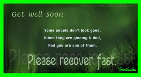 recover fast     ecards greeting