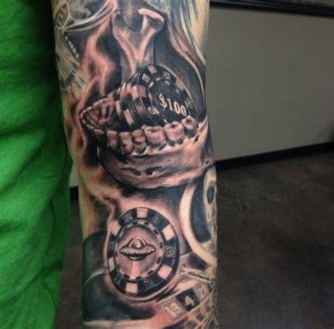 25+ Casino Chips Tattoos