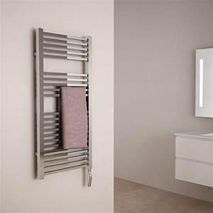 Seche Serviette Salle De Bain : s che serviettes electrique blanc neve ~ Edinachiropracticcenter.com Idées de Décoration