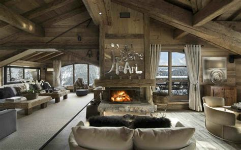 charming chalet constructed   timber  local stone