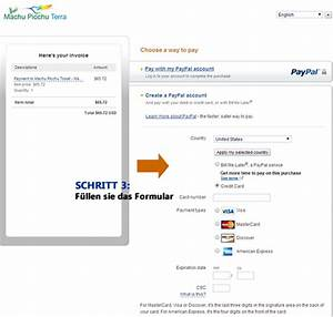 Tickets Auf Rechnung : bezahlen ticket machu picchu einfach mit paypal ~ Themetempest.com Abrechnung