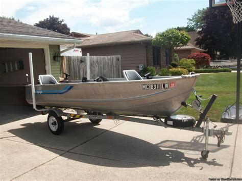 Sea Nymph Aluminum Jon Boats by 14 Ft Jon Boat With Trailer And Motor Boats By Owner