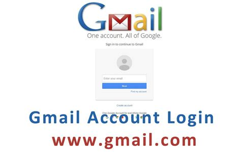 Www.gmail.com Sign In New Account