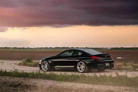 Black Sapphire Bmw M6 Adorned With Adv.1 Directional Wheels