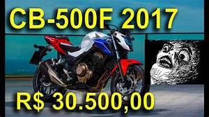 Honda Cb 500 2017 : apresenta o nova honda cb 500f 2017 motonews youtube ~ Medecine-chirurgie-esthetiques.com Avis de Voitures