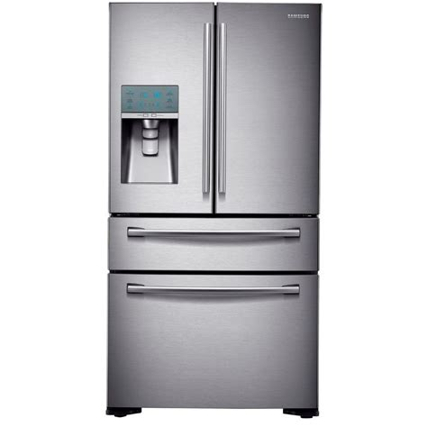 Samsung Counter Depth Refrigerator Home Depot samsung refrigerator 22 6 cu ft 4 door door