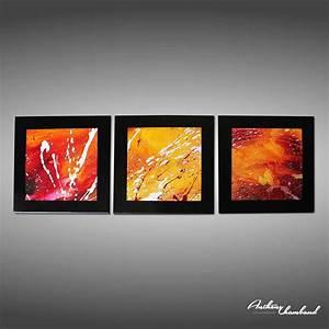 Tableau Triptyque Moderne : tableau triptyque moderne inspirations avec triptyque polyptique tableau peinture moderne photo ~ Teatrodelosmanantiales.com Idées de Décoration