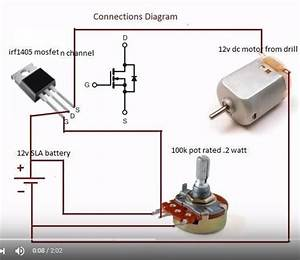 Wiring Diagram Variable Speed Motor