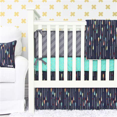 arrow crib bedding giveaway crib bedding from caden project nursery