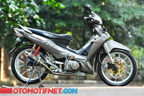Modif Supra X 125 by 2 Modifikasi Honda Supra X 125 Futuristik