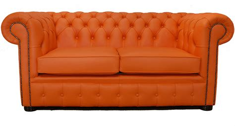 Orange Leather Loveseat by Orange Sofas Architecture Interior Design