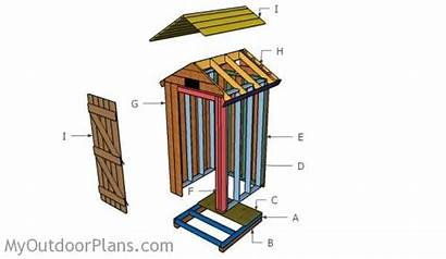 Smokehouse Build Plans Building Roof Shed Wood