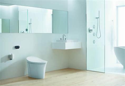 Kohler Bathroom Pics by Kohler Veil Integrated Toilet Incorporates Functional