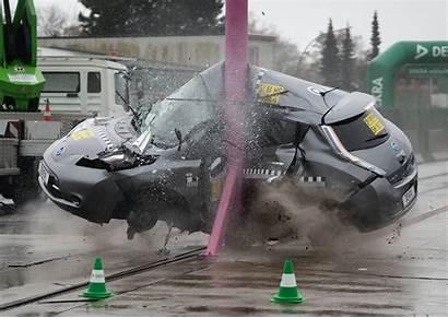 Crash Nissan Leaf Test Tests Star Germans