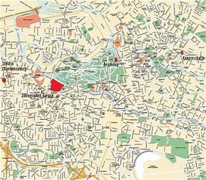 Cartes de Berlin | Cartes typographiques détaillées de ...