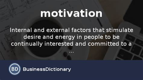 motivation definition  meaning