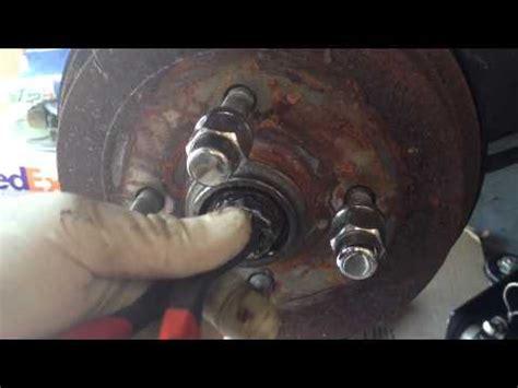 volkswagen rear brake drum issues youtube