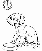 Dog Coloring sketch template