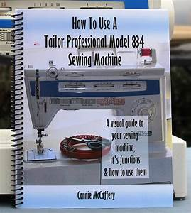 Tailor Professional 834 Sewing Machine Spiral Bound Manual