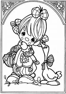 Clown  U2013 Precious Moments Coloring Pages