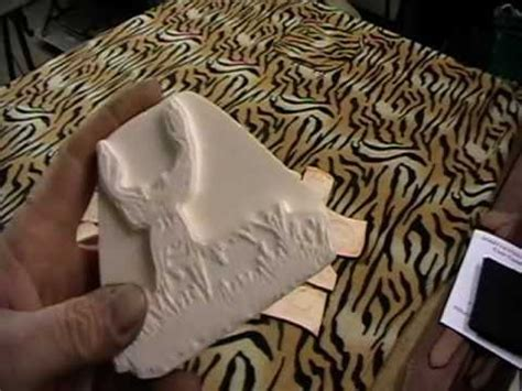 leather embossing plates youtube