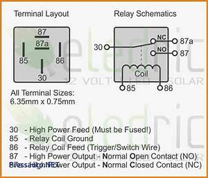 5 Pin 30 Amp Relay Wiring Diagram