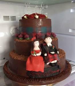 3 Tier Chocolate Wedding Cake - CakeCentral.com