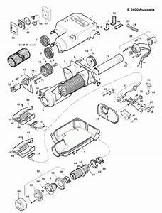 Spare Parts Diagram - Dometic Truma E2400