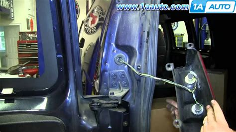 how to install change taillight and bulbs 1997 2013 gmc