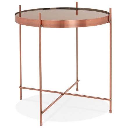 table bout de canapé en verre design tables basses de tous styles et toutes matières techneb