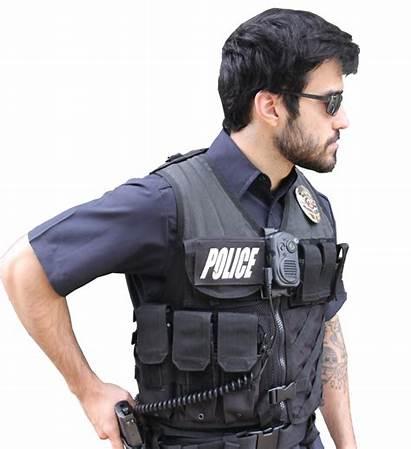 Policeman Police Cameras Wolfcom Evidence Management Camera