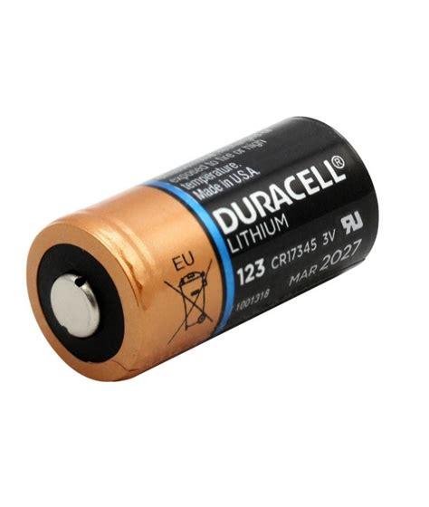 pile lithium 3v pile lithium 3v cr123 cr17345 duracell ultra