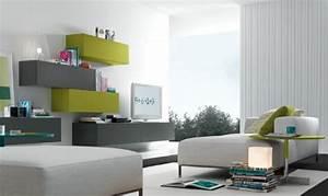 Salon Vert De Gris : d co salon vert et gris ~ Melissatoandfro.com Idées de Décoration
