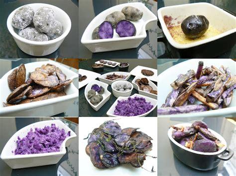 cuisiner pommes de terre comment cuisiner la pomme de terre violette 171 vitelotte