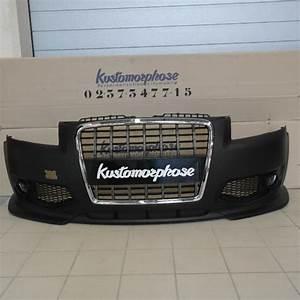 Audi A3 Phase 2 : pare choc av audi a3 8p look s3 05 08 ~ Medecine-chirurgie-esthetiques.com Avis de Voitures