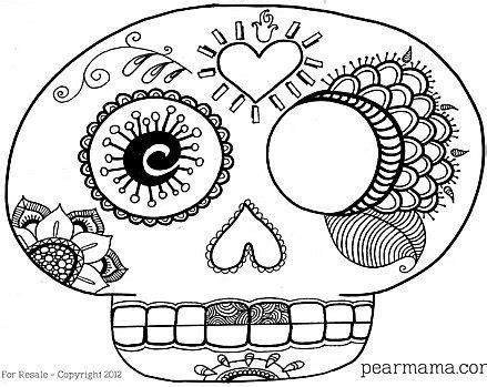 Día de Muertos: Mascara de calaverita de azucar Blog