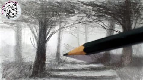 Como Dibujar Un Bosque Y Lograr Profundidad Y Atmosfera