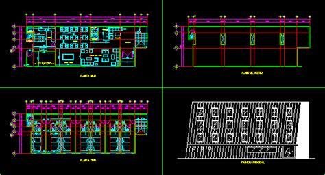 rustic hotel  design dwg plan  autocad designs cad