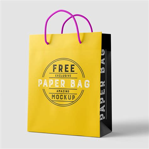 Collection of free customizable mockups to beautifully present your design projects. Free Beautiful Paper Shopping Bag MockUp Psd TemplateFree ...
