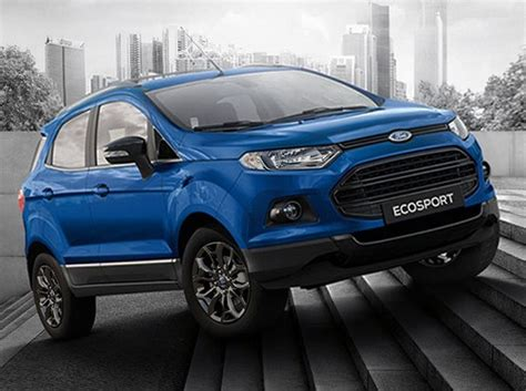Ford Ecosport Black Edition Launched At Rs 8 58 Lakh Ford Ecosport