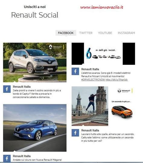 si鑒e social renault nuovo sito renault it la nuova clio