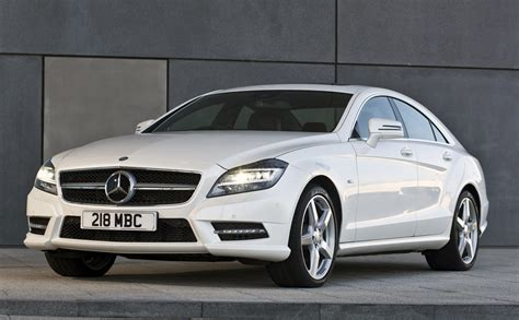 mercedes white mercedes benz cls continues to lead by exle
