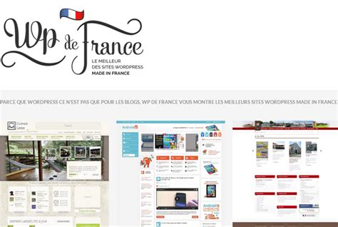 Les Meilleurs Sites Wordpress Made In