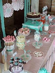 "Fiesta infantil de Cumpleaños Shabby Chic de ""Celebra con ..."