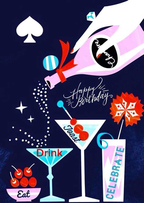 birthday cocktails happy birthday gifts happy birthday