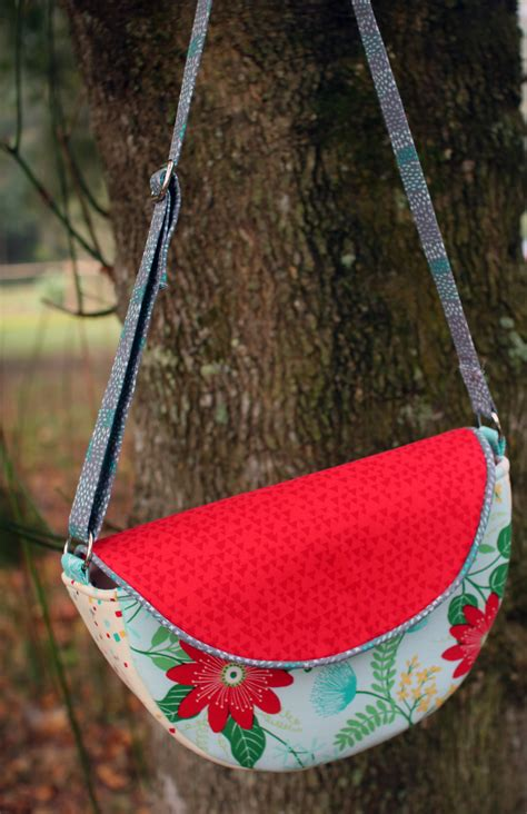 gracie saddle bag  pattern crafty gemini