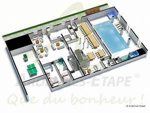 Villa de luxe acces pmr avec piscine pour 48 pers a louer for Plan de maison avec piscine interieure 0 maison perigourdine avec piscine dinterieure chauffee 28