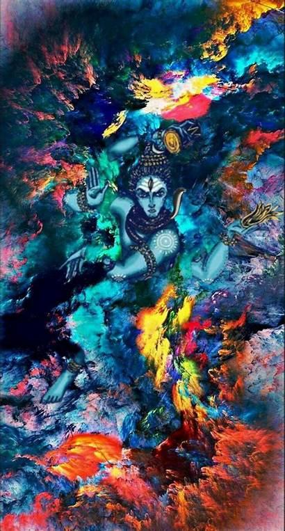 Shiva Lord Nataraj Painting Wallpapers Creative God